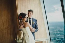 Свадебная фотосессия в Москва-Сити-27
