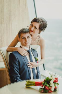 Свадебная фотосессия в Москва-Сити-23