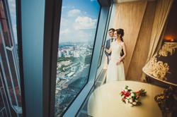Свадебная фотосессия в Москва-Сити-20