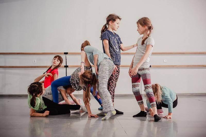 ЗИЛ, детский класс по Contemporary dance