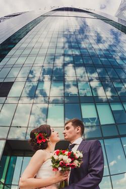 Свадебная фотосессия в Москва-Сити-31