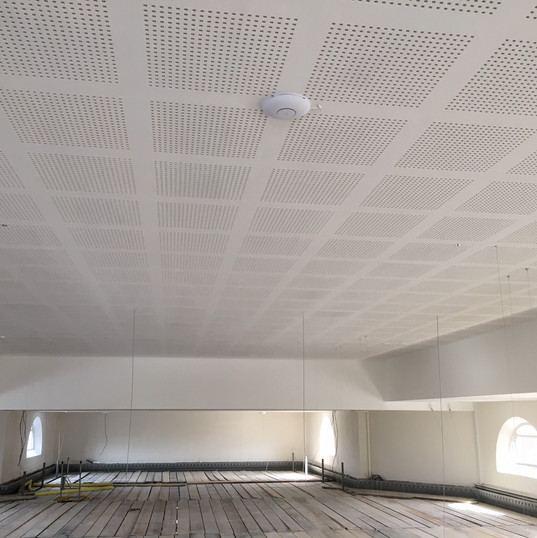 New ceiling