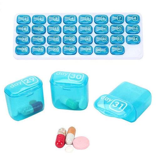 Organizador de Medicamentos - Uso Mensal - 31 dias