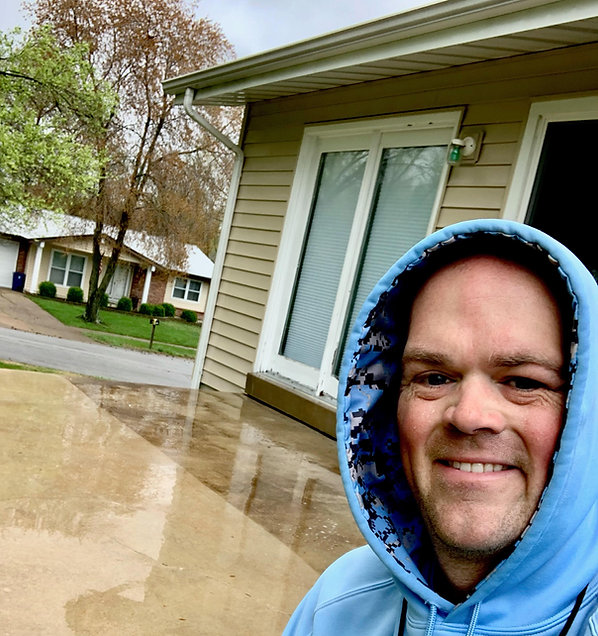 Water Dog Pressure Washing serving St. Louis county missouri and surrounding areas