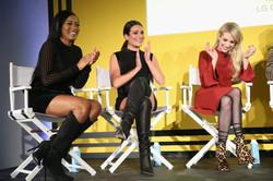 Scream-Queens- Lea Michele, Keke Palmer, and Emma Roberts