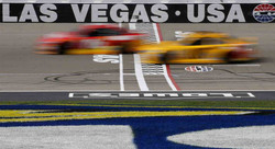 APTOPIX-NASCAR-Las-Vegas-Auto-Racing