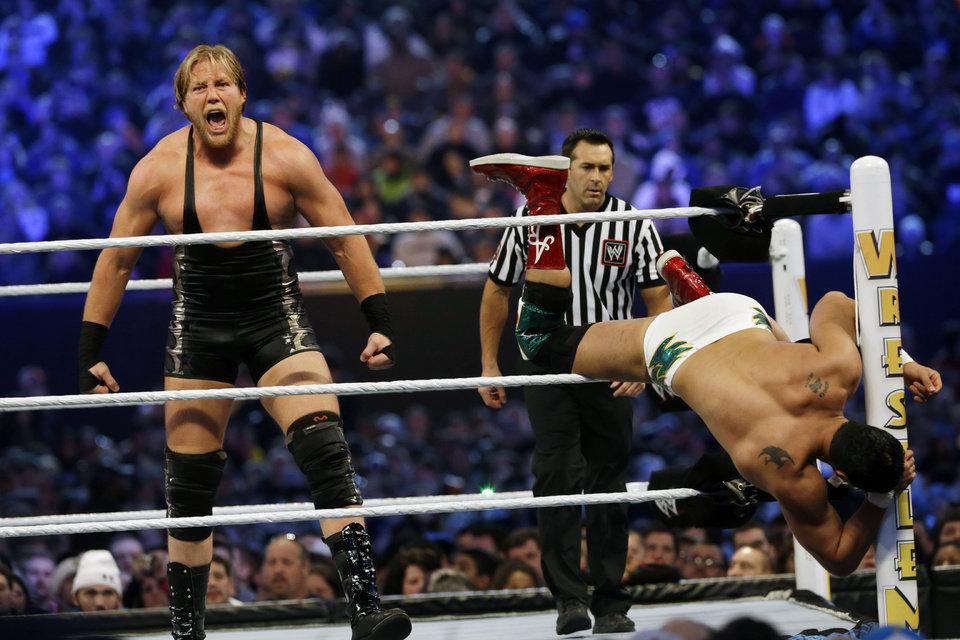 Jake Hager, wrestler & Jack Swagger