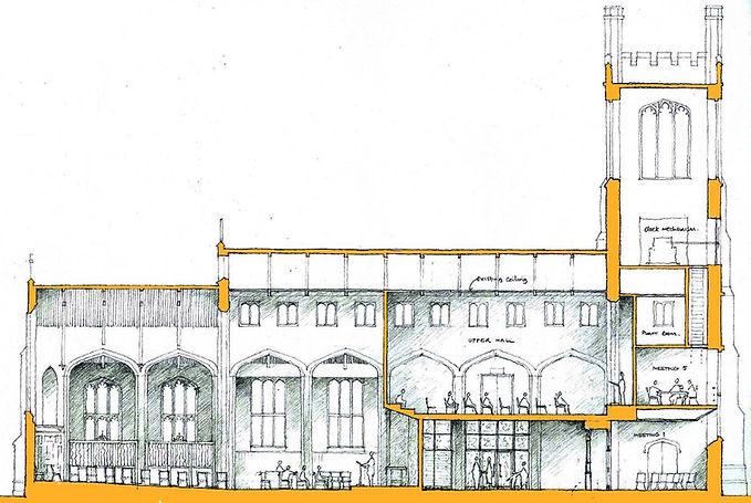 St Pauls Church drawing