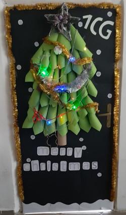 Konkurs świąteczne drzwi