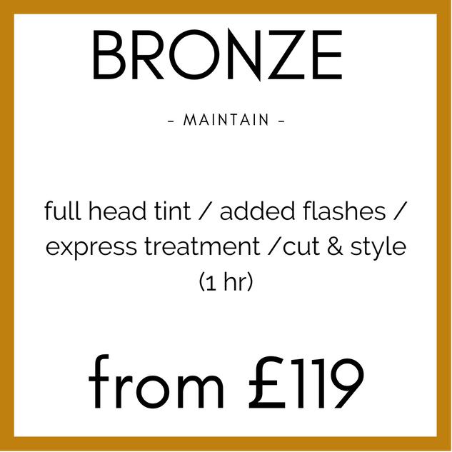 Bronze Colour Maintain
