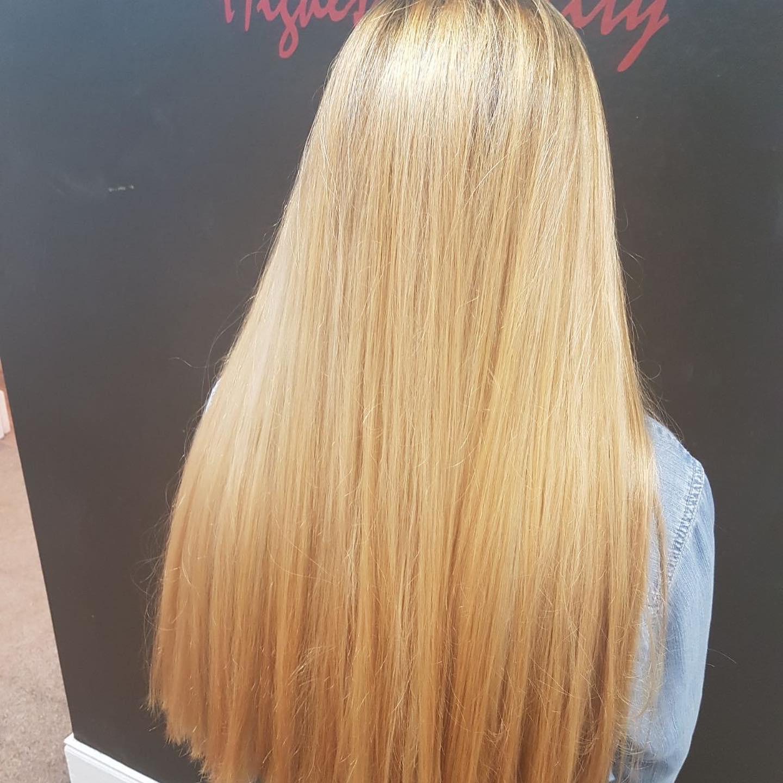 Heathy blonde
