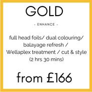 Gold Colour Enhance
