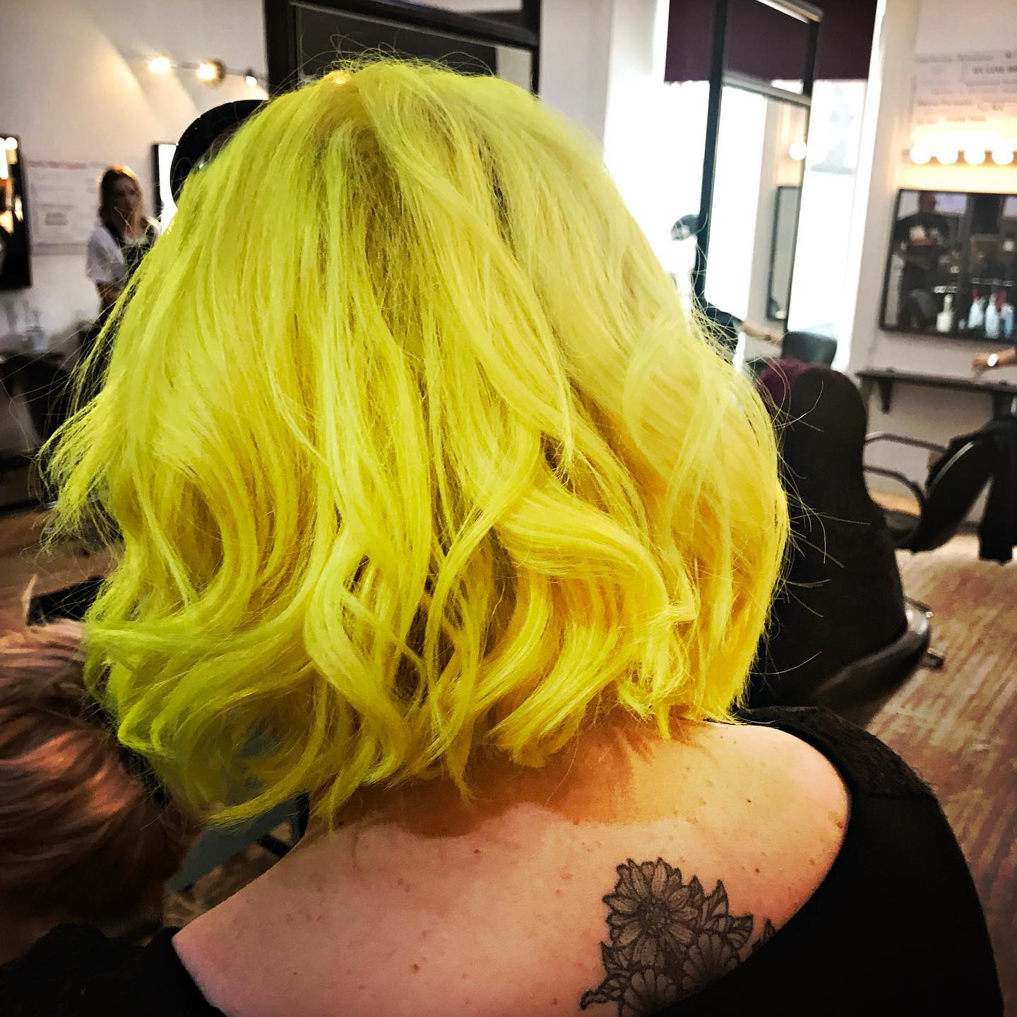 Yellow Hair !