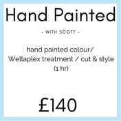 Hand Painted Colour with Scott