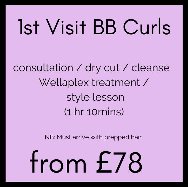 1st Visit BB Curls