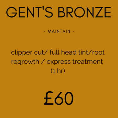 Gent's Bronze Colour Package