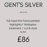 Gent's Silver Colour Package