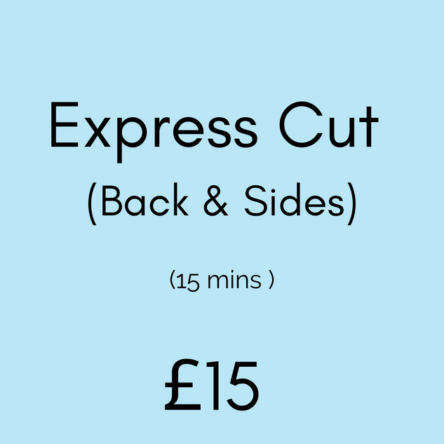Express Cut (Back & Sides)