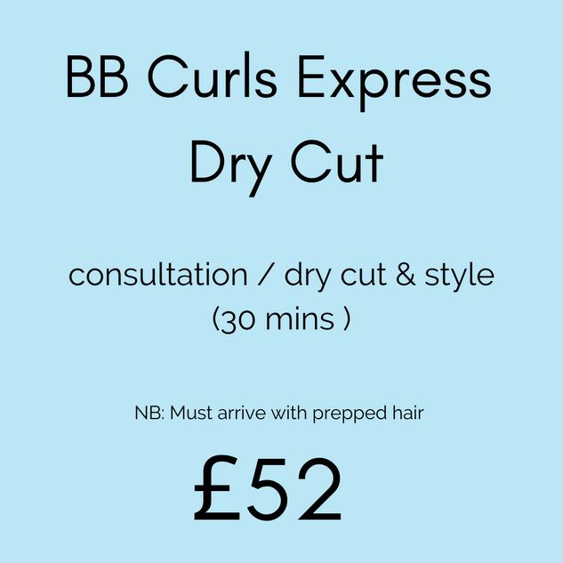 BB Curls Express Dry Cut