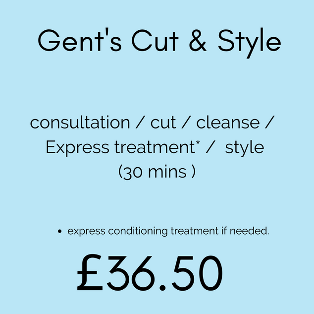 Gent's Cut & Style