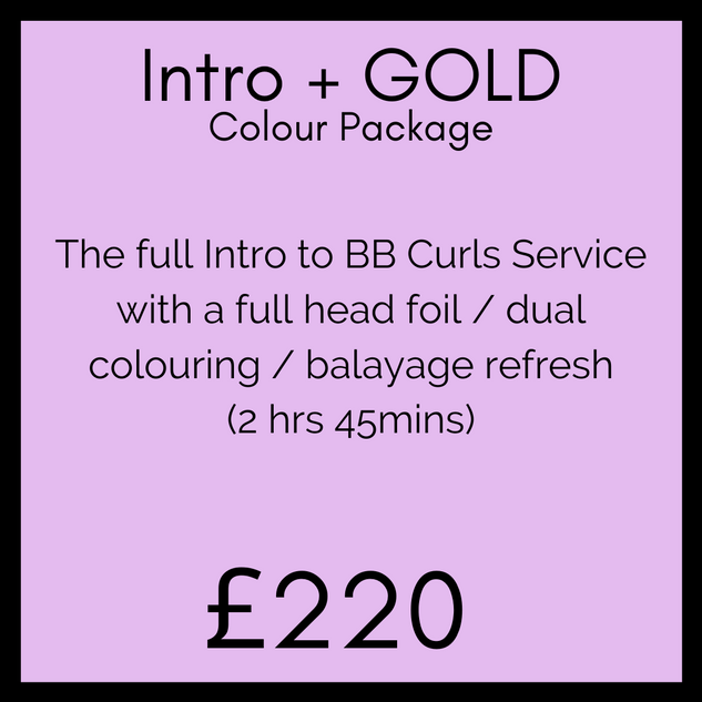 Intro + GOLD Colour Package
