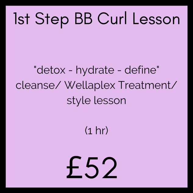 1st Step BB Curl Lesson