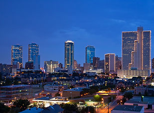 Skyline of Fort Worth Texas at night.jpg