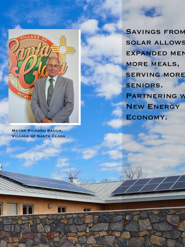 Santa Clara's Senior Center solar funded by Remy's Good Day Fund