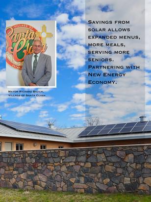 Santa Clara's Senior Center solar funded by Remy's Good Day Fund