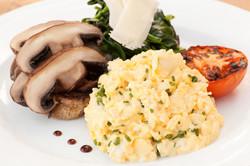 Scrambled Eggs & Mushroom