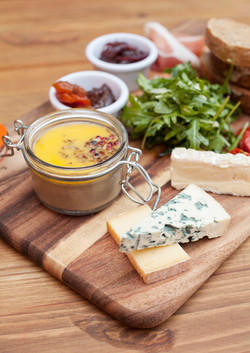 Pate & French Cheese Board