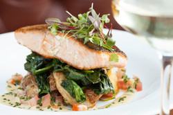 Pan Roast Salmon