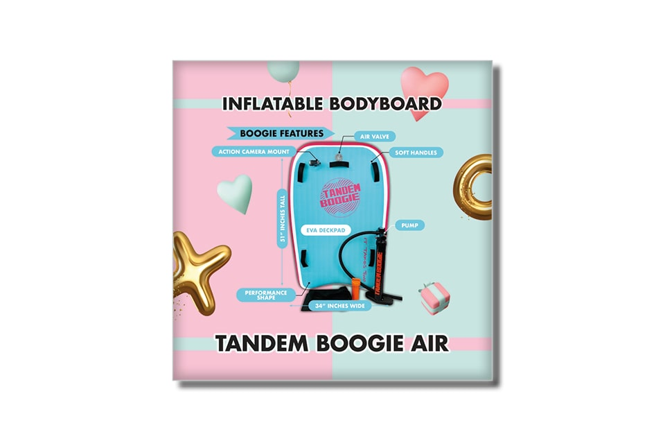 Tandem Boogie Social Media Graphic