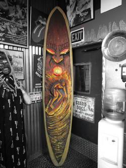 Decorative Surfboard - $500