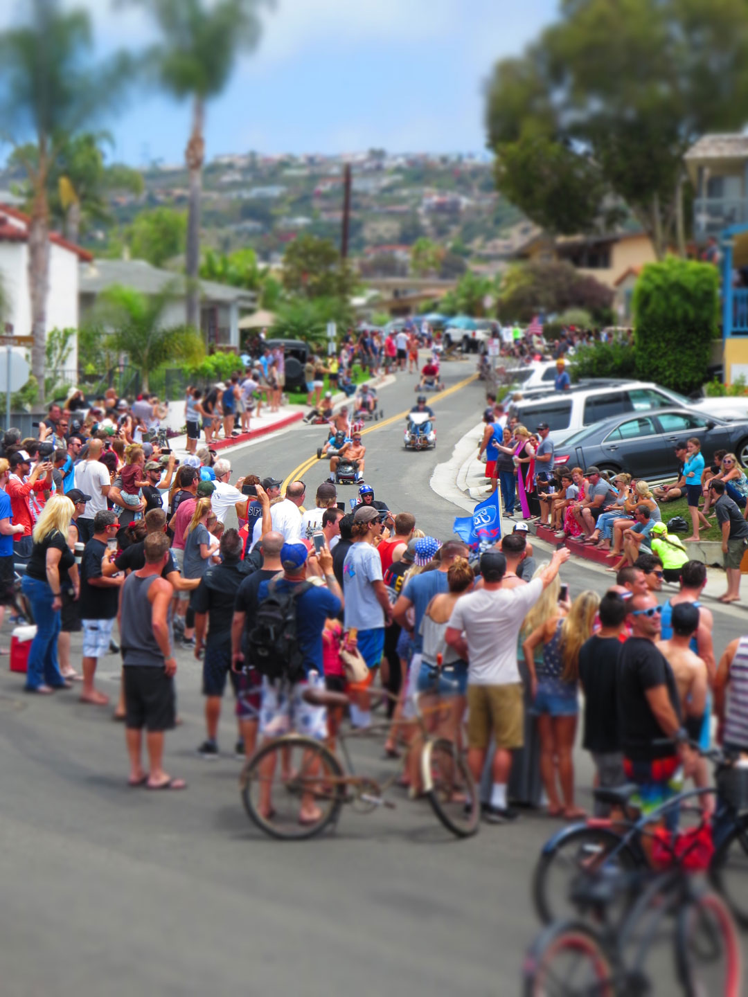 San Clemente Office Chair Races