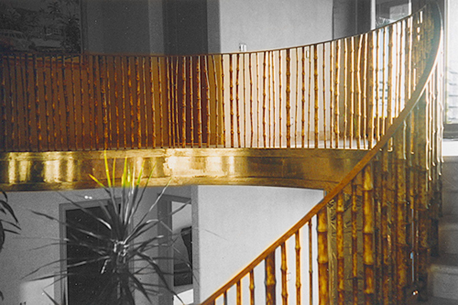 Bamboo Staircases