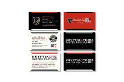 Kryptikote Business Card Designs