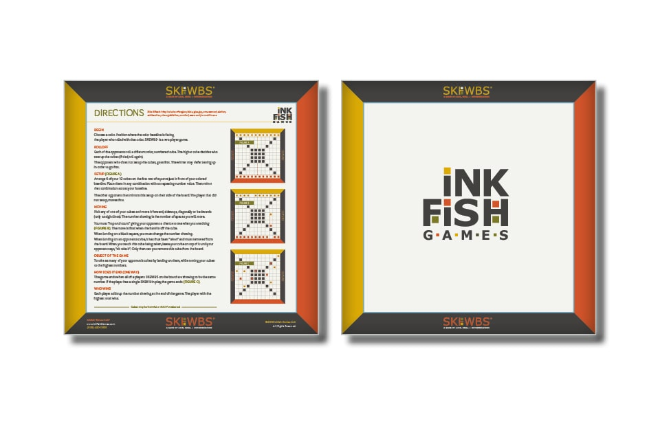 Ink Fish Games First Game