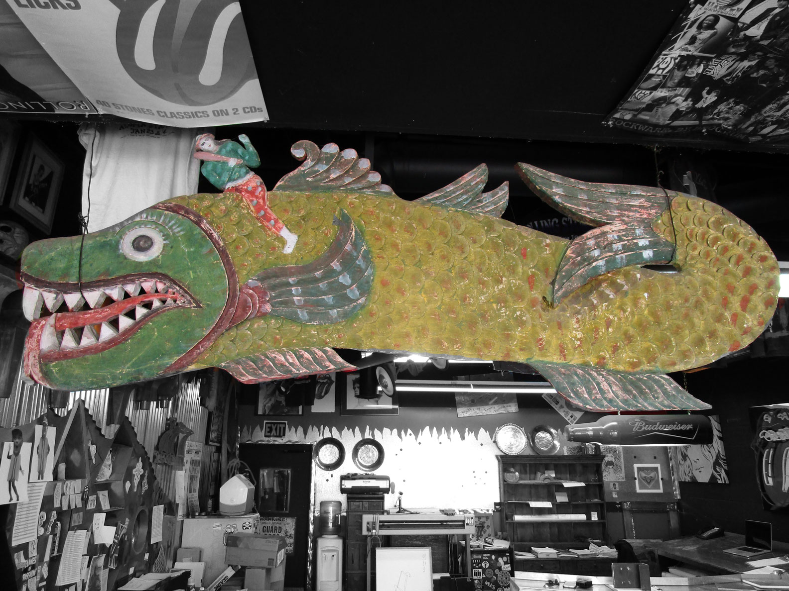Fish Sign - $300