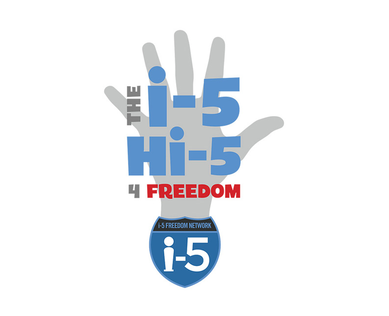 Hi-Five for Freedom Logo Design