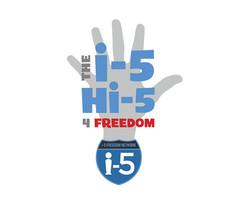 Hi-Five for Freedom Logo Design