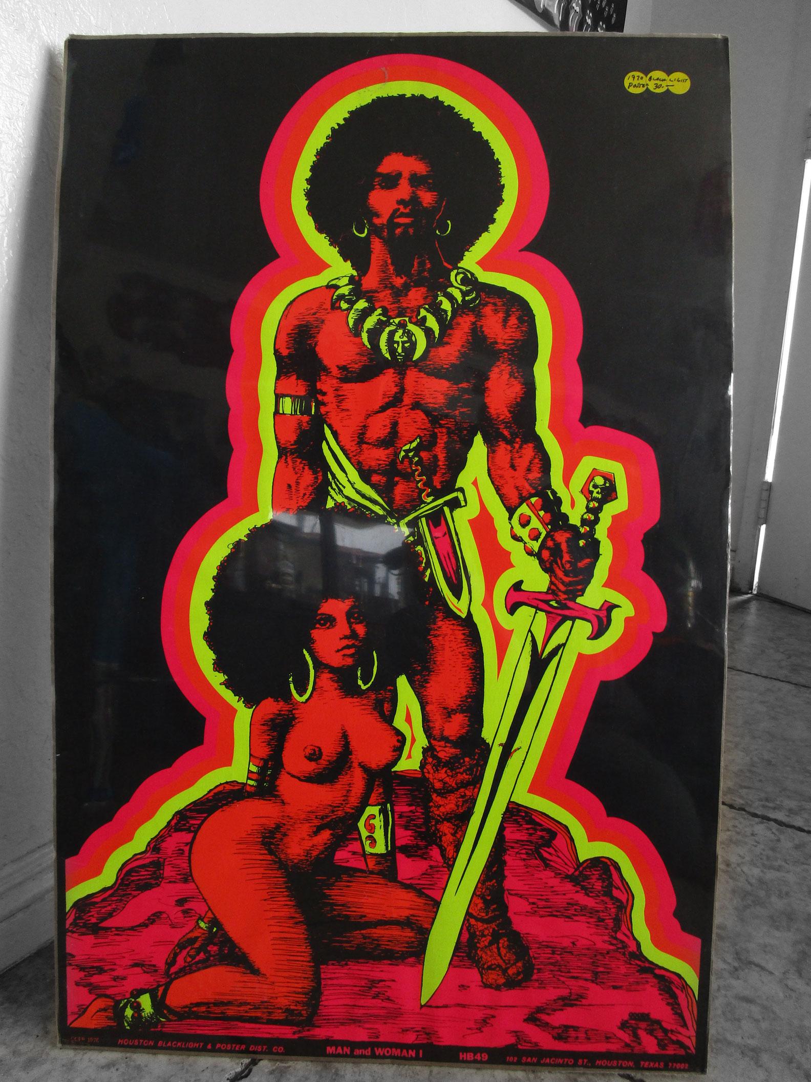Black Lite Poster - $200