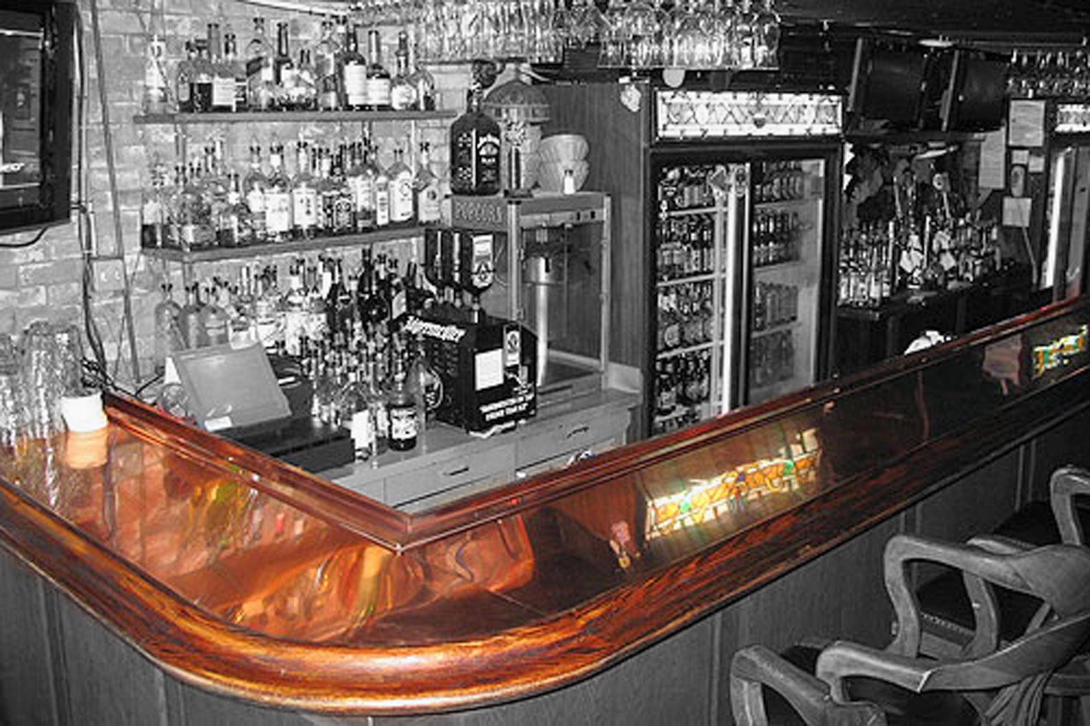 Copper Bar Tops