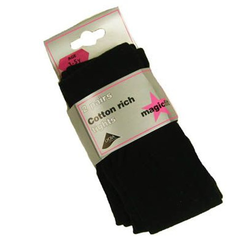 Single Pack Cotton Rich Tights