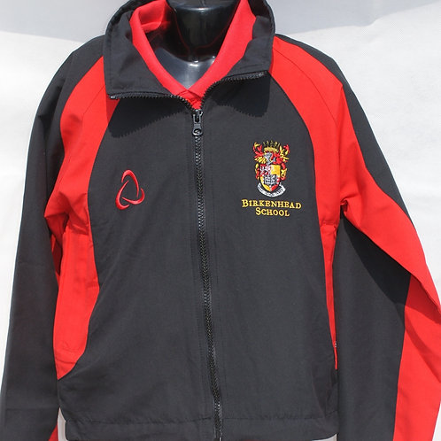 Black and Red Tracksuit Top