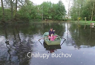 Chalupy Buchov z dronu