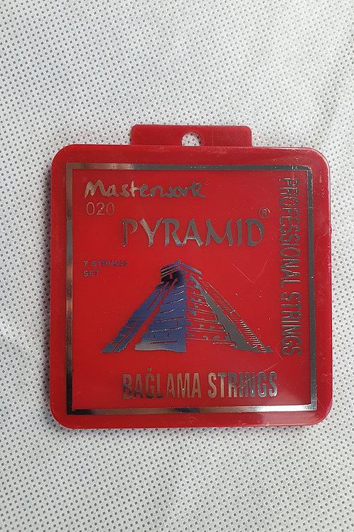 Saz Strings- Pyramid 0,20