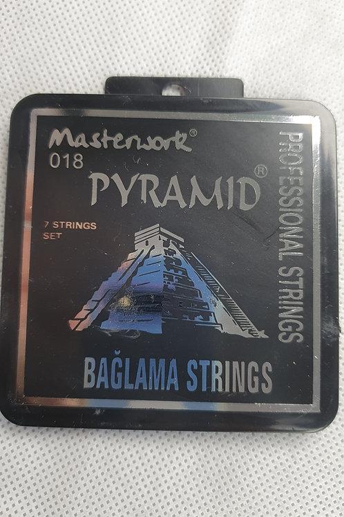Saz/Baglama Strings- Pyramid 0,18
