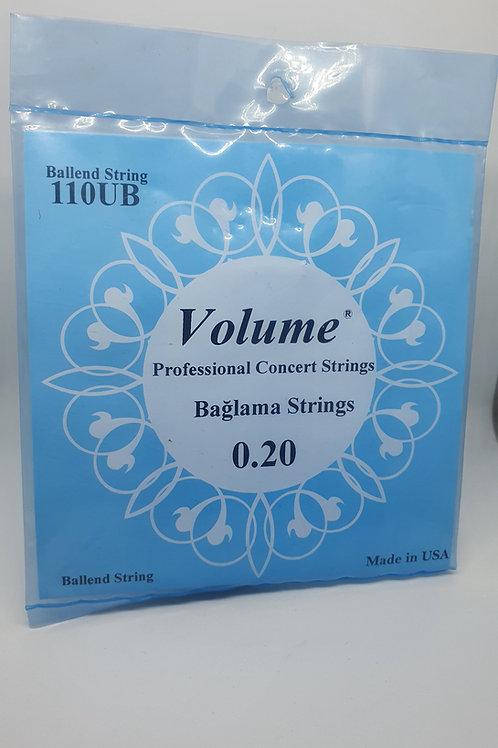 Saz Strings - VOLUME -0.20