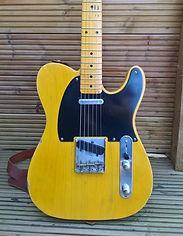 1952 Telecaser Tele Relic Smoketree Guitars